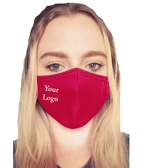 Red Poly Mask