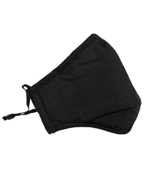 100% Cotton Mask-Black