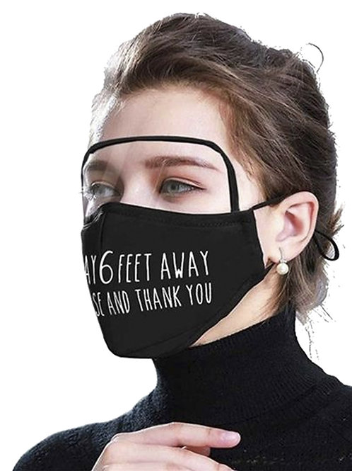 4 Ply Eye Goggles Face Mask