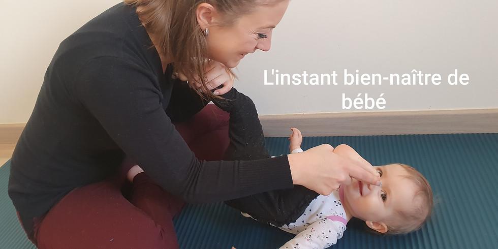 Yoga bébé : hérissons de 2 à 4 mois
