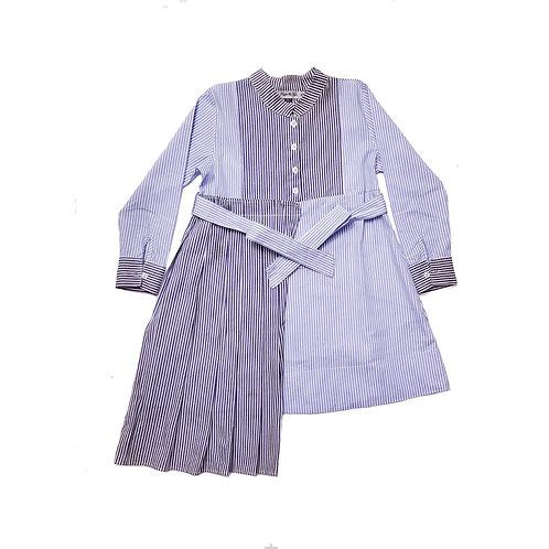 Penelope retro stripes dress