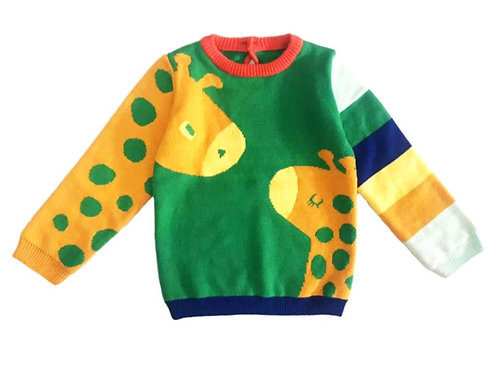 Giverny giraffe sweater