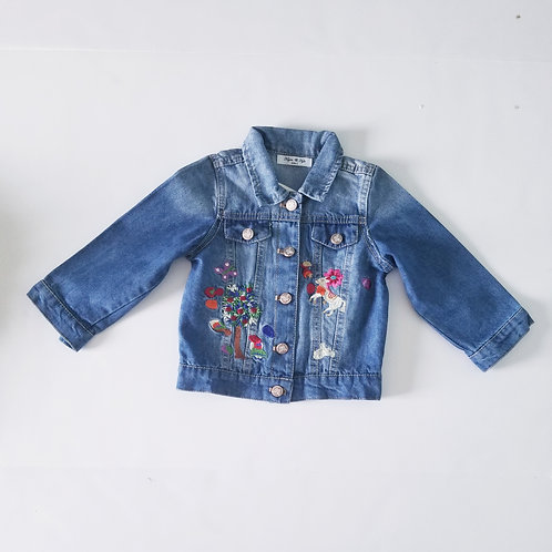 Ivy embroidered jacket