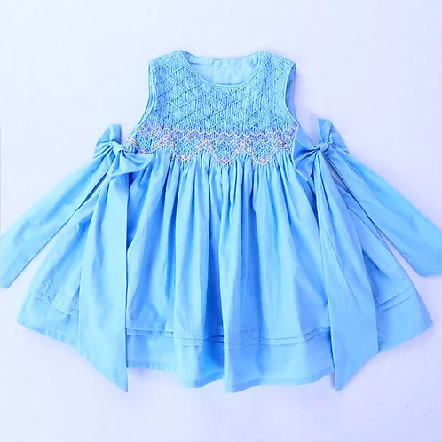 Abigail smocked dress