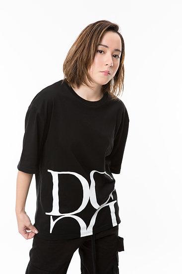 DC ロゴTシャツ(黒)