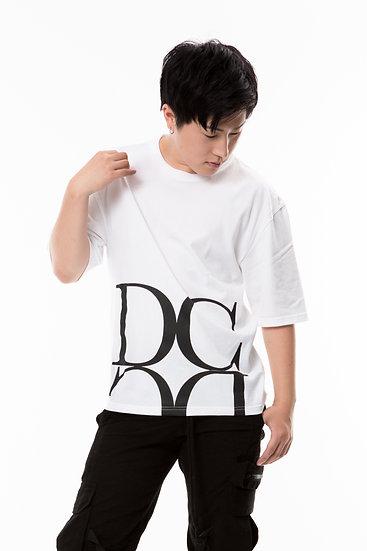 DC ロゴTシャツ(白)