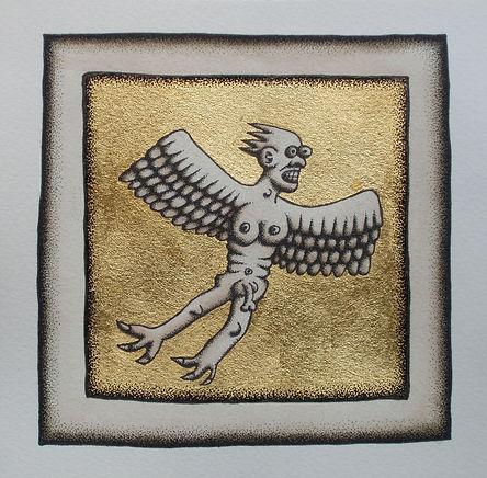 Serpent Angel Study (Gold).jpg