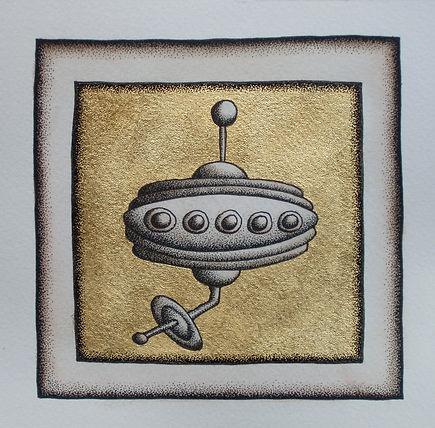 Flying Saucer Study (Gold).jpg