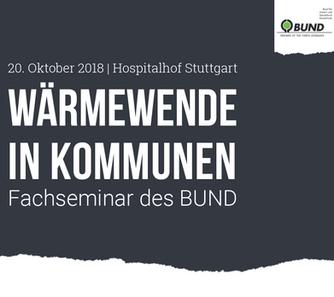"Seminar - ""Wärmewende in Kommunen"""