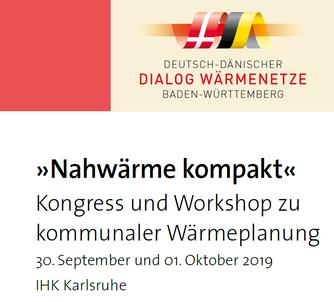 »Nahwärme kompakt« Kongress und Workshop zu kommunaler Wärmeplanung