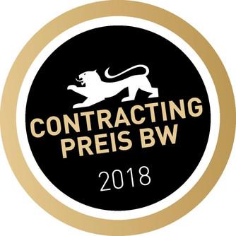 Endspurt: Jetzt für den Contracting-Preis 2018 bewerben