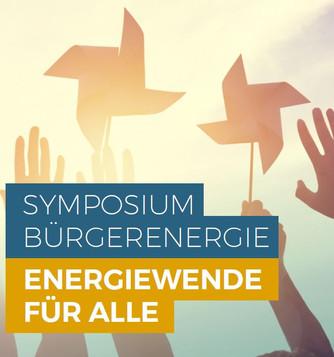 Symposium Bürgerenergie am 01. Februar 2019