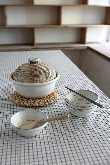 【内田 可織】粉引き/小鉢
