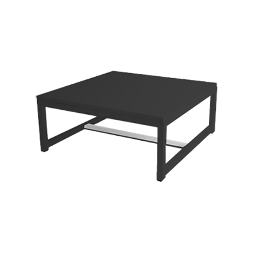 kubo loungetafel zwart
