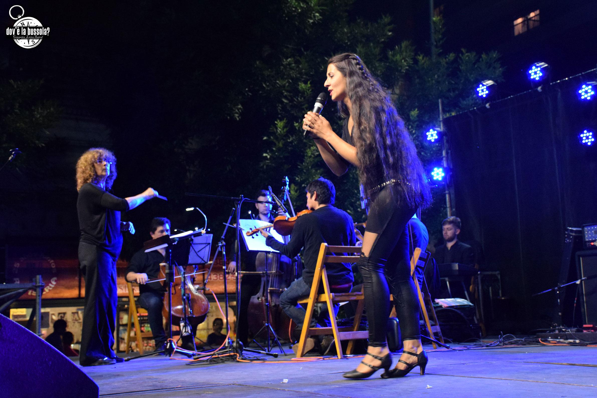 Natalia Quiroga Romero y Ensamble