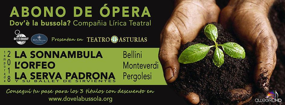 la sonnambula l'orfeo la serva padrona en argentina dov'è la bussola? teatro asturias
