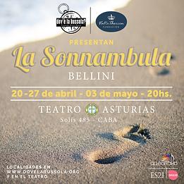la sonnambula en argentina dov'è la bussola? teatro asturias