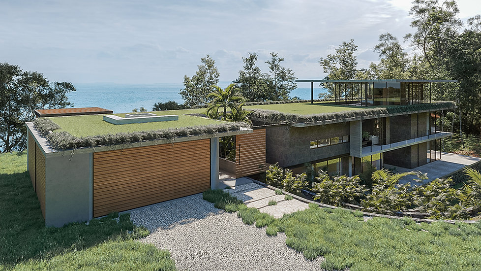 Modern Tropical Architecture - Inverse Project Costa Rica - Sustainable home design
