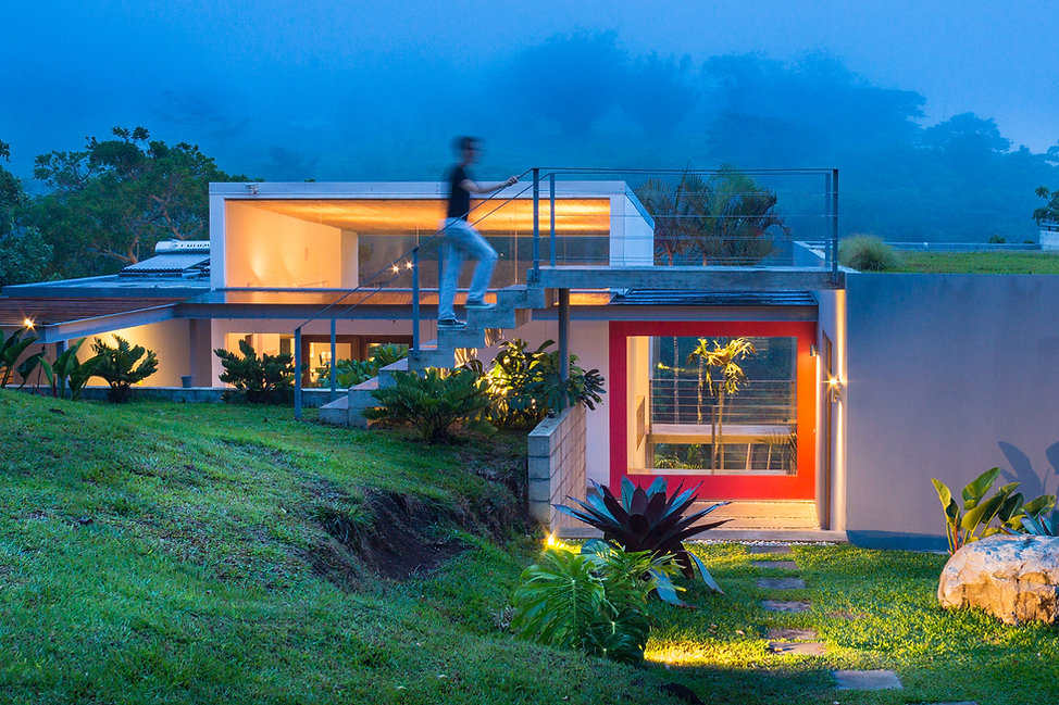 Modern Sustainable architecture by Inverse Project in Costa Rica | simple modern house design