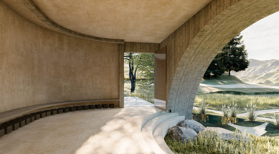 Inverse Project - Onsen Baths in Califonia