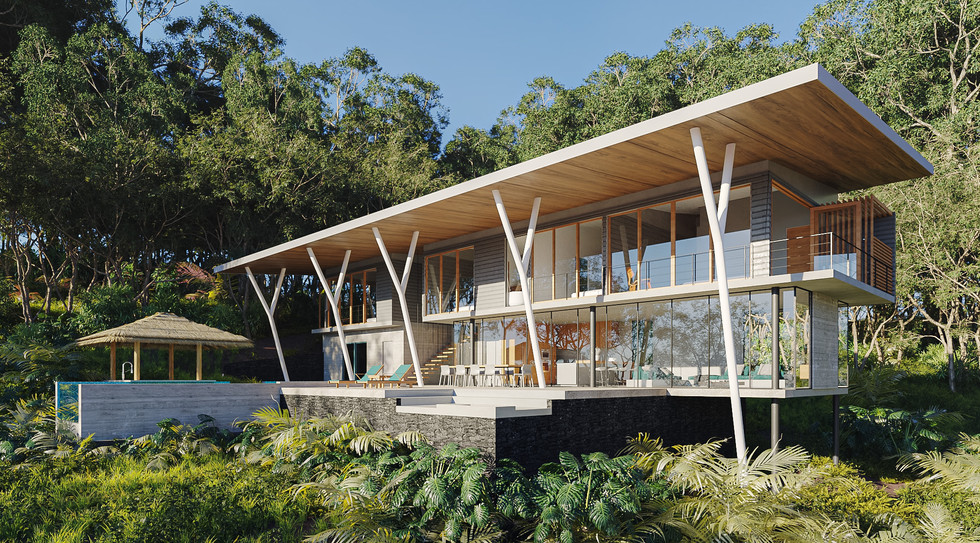 Inverse Project - Tropical Modern Home Design - Best Sustainable Architecture in Costa Rica