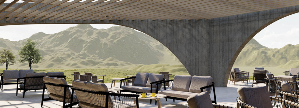 Hot springs resort in Northern California by Inverse Project