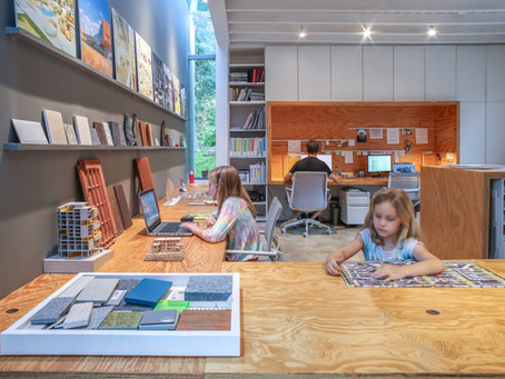 Nuestro estudio de diseño en Costa Rica se transformó en un espacio de estudio en casa.