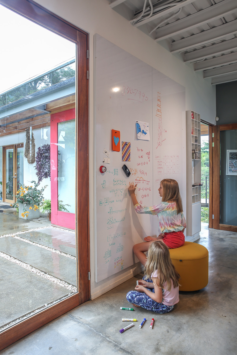 magnetic whiteboard designed by Inverse Project  in our desgin studio
