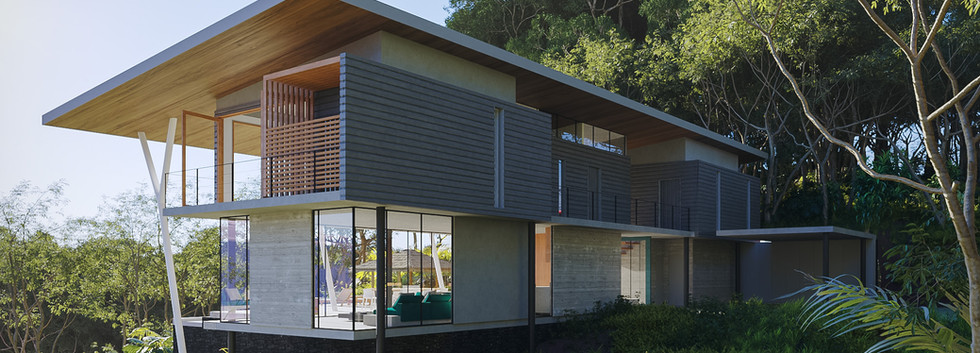 Inverse Project - Tropical Modern Home Design - Best Sustainable Architecture in Costa Rica - dominical Architects