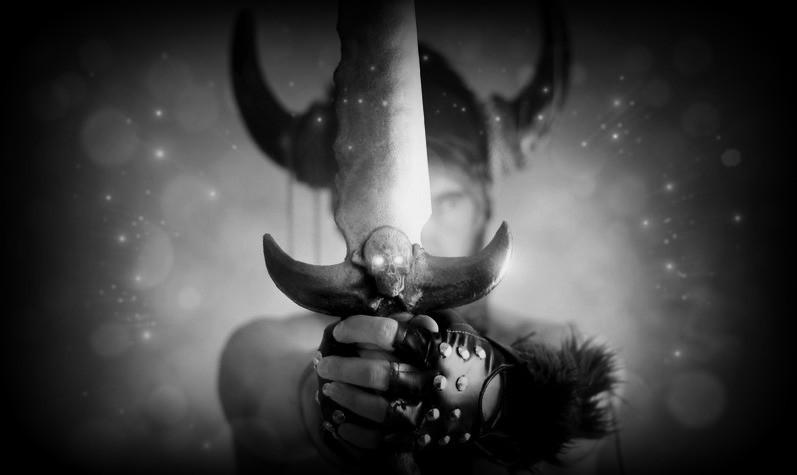 The Dagda, warrior, chieftain, druid.