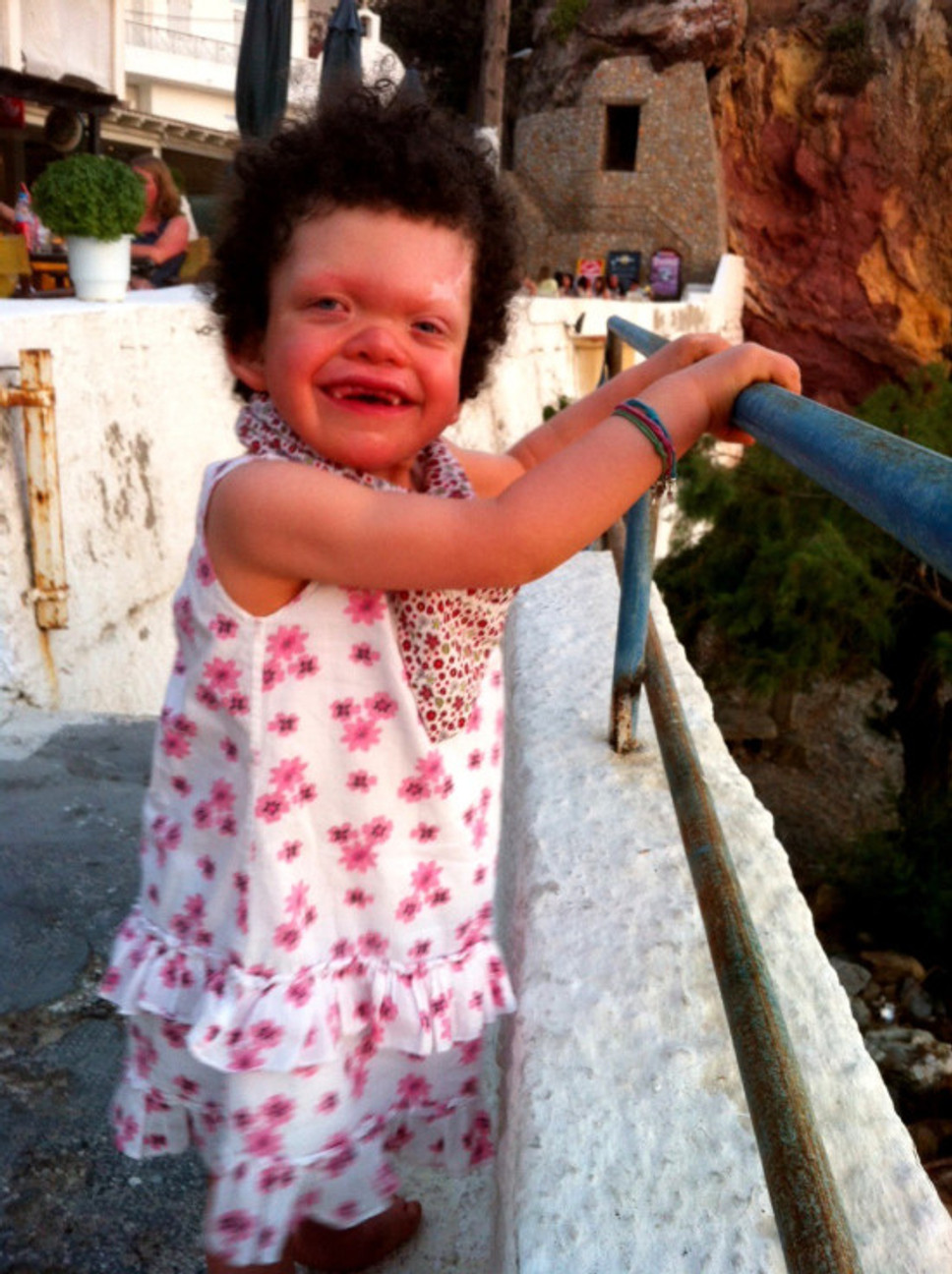 Carys on holiday 2013