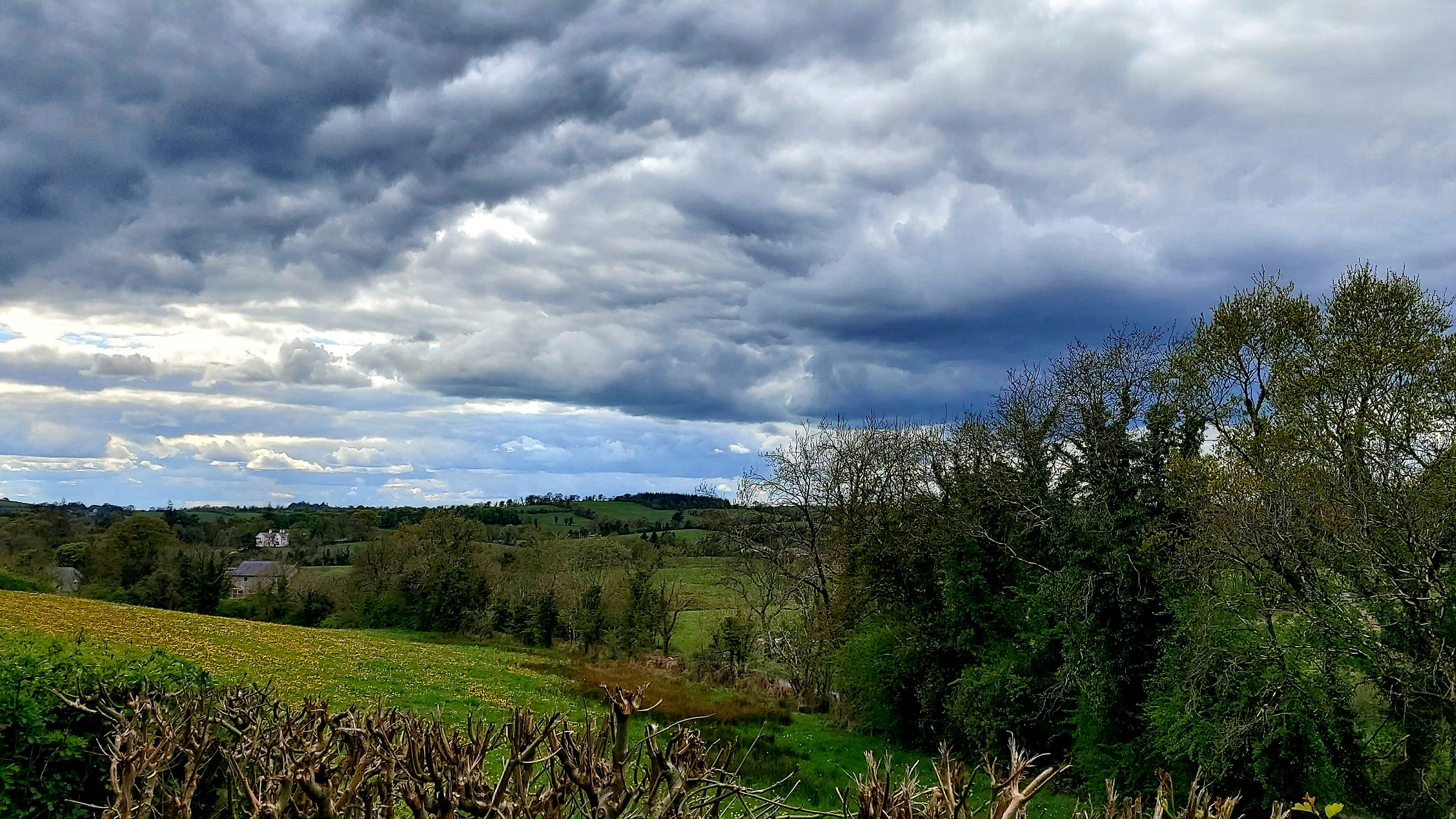 striking cloudy sky
