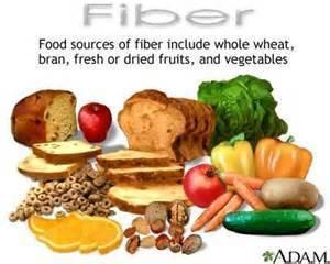 food sources of fibre