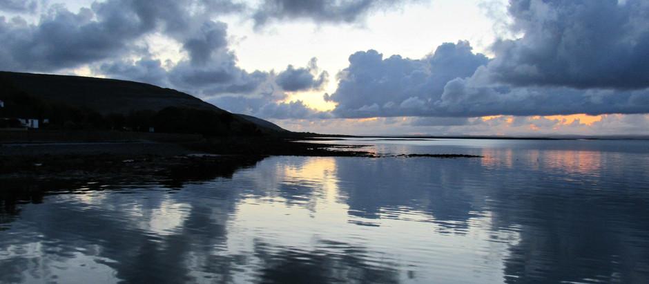 gleninagh castle, co. clare | the wild atlantic way