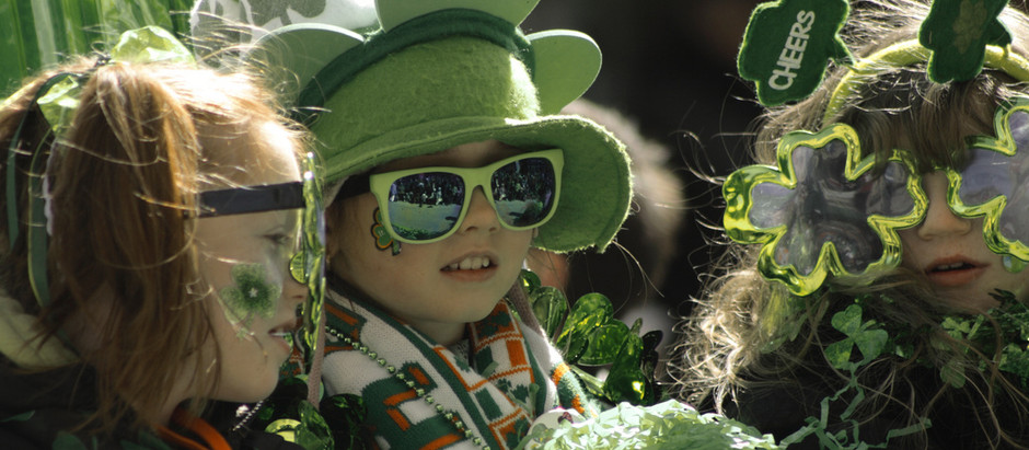 The Shamrock, the Shillelagh and the Leprechaun: Symbols of Irishness for #StPatricks Day