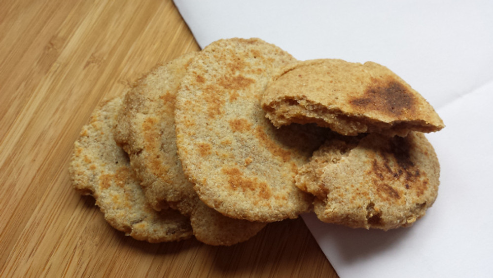 Griddle cakes.