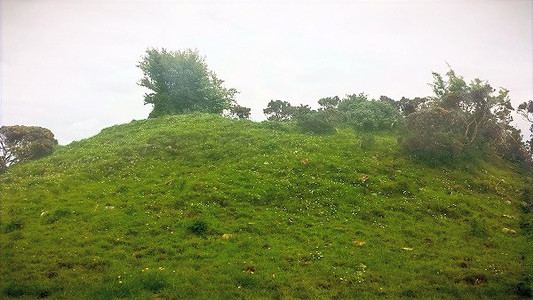 The mound of Grainne's burial