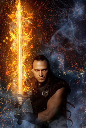 Nuada and his Sword of Light