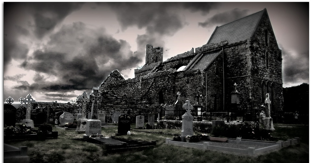 Corcomroe Abbey, The Wild Atlantic Way.