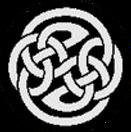 Lugh's knot black white