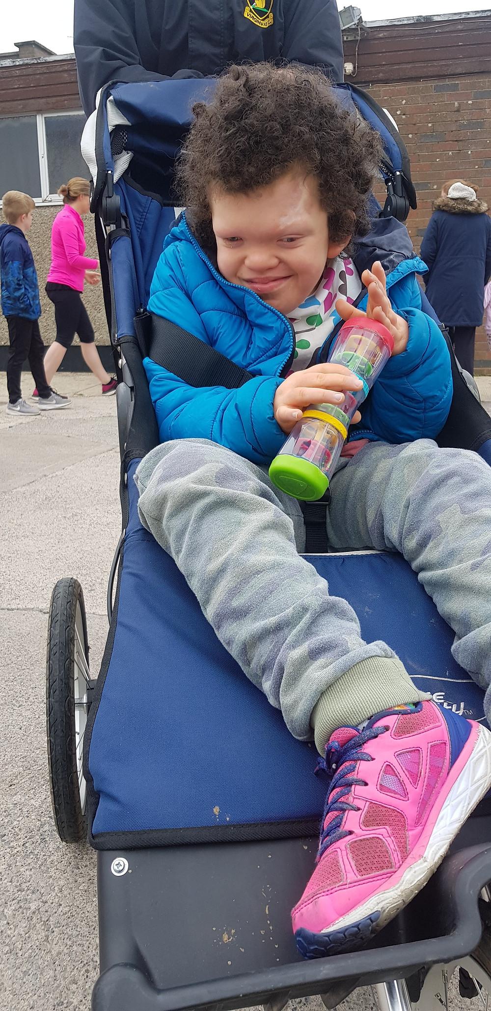 Carys's Sponsored Walk. aliisaacstoryteller.com. #livingwithaspecialneedschild 'cardiofaciocutaneoussyndrome #raredesease