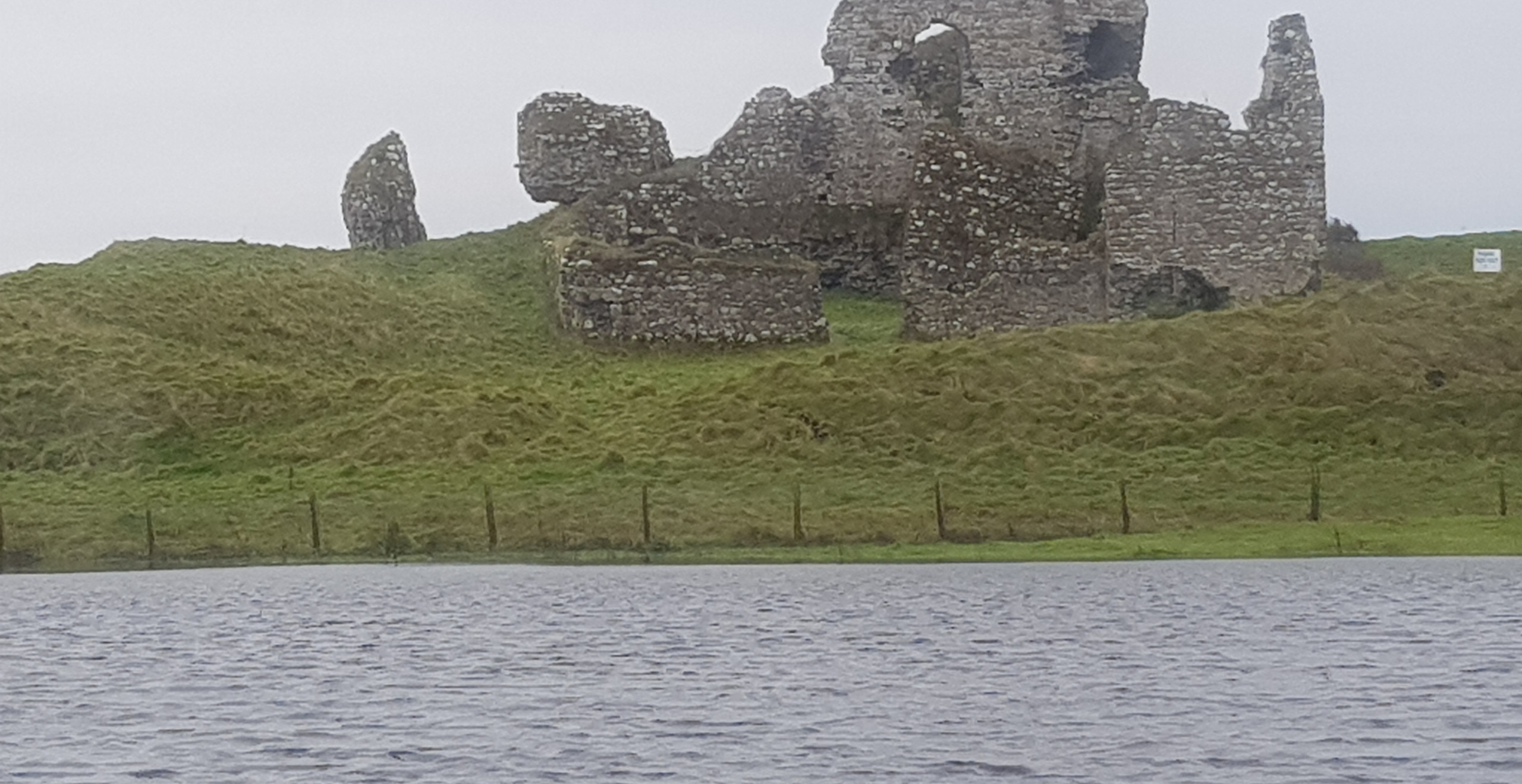 Remains of Anglo-Norman castle