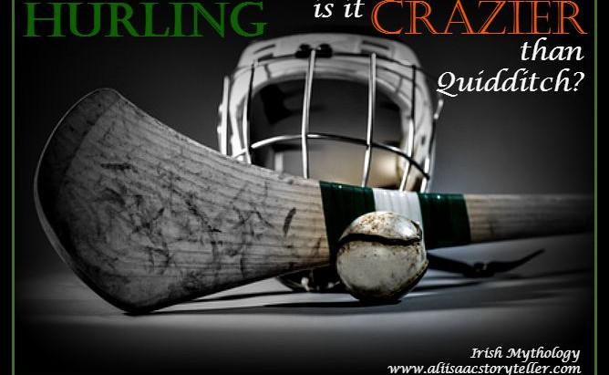 irish hurling | crazier than quidditch?