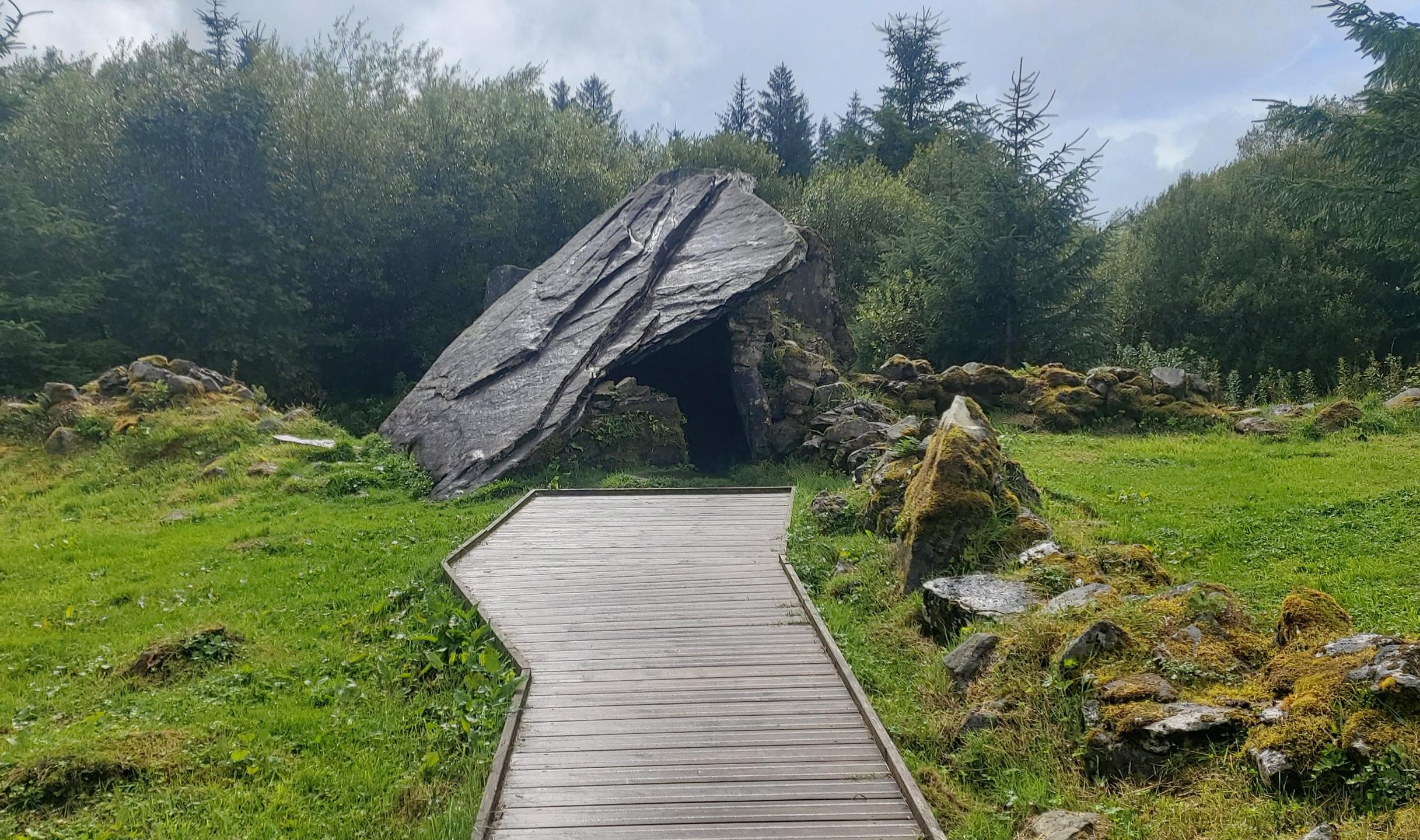 Approach to Calf House Dolmen