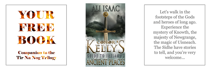 Cover of Ali's Free Book -  Conor Kelly's Guide to Ireland's Ancient Places