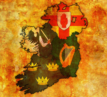 the 5 fifths of ireland