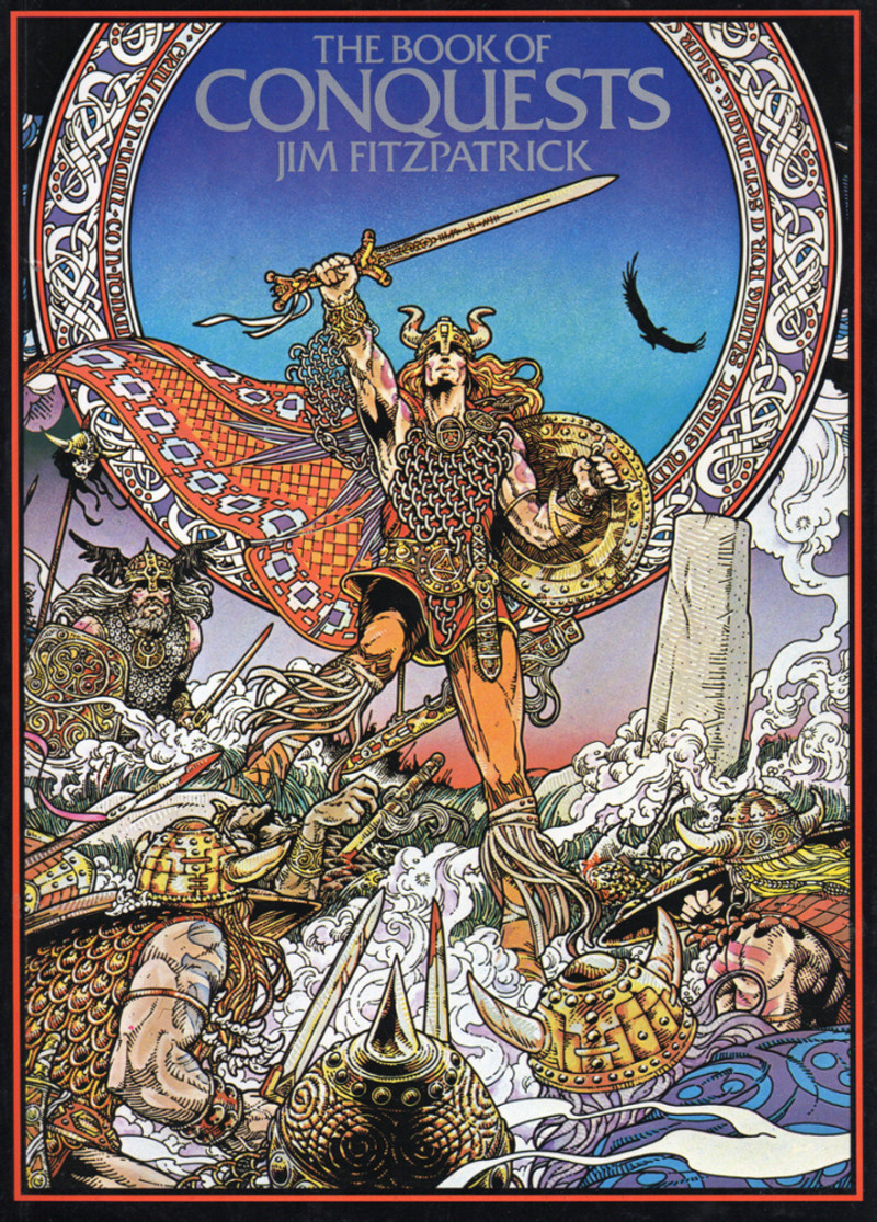 Book of Conquests by Jim Fitzpatrick