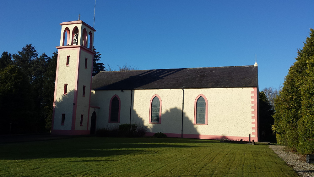 The 'new' Church of Knockbride.