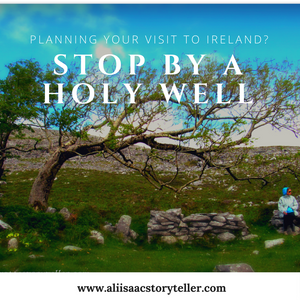 St Colman's holy well in Co. Galway