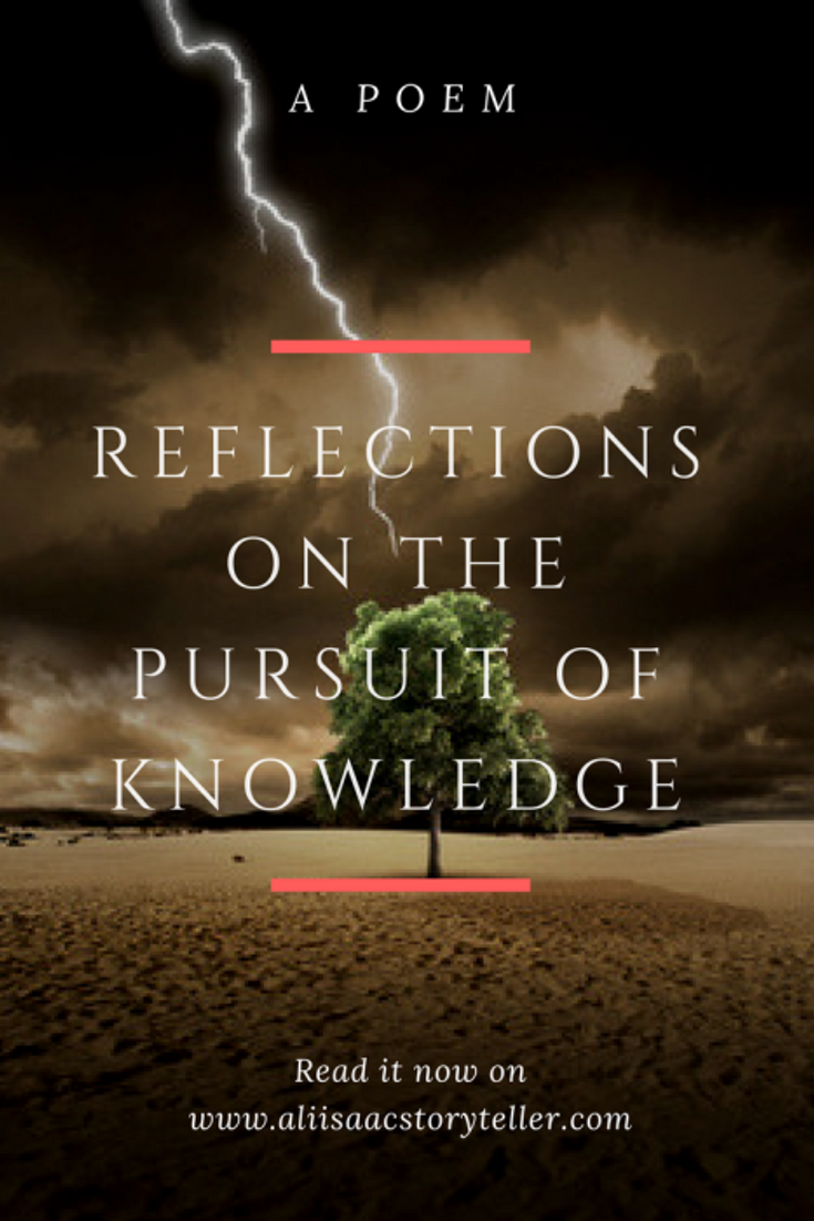 Reflections on the Pursuit of Knowledge: A Poem